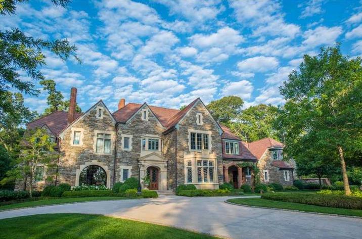 Woodland Hills Manor A 12 9 Million Tudor Stone Mansion In Atlanta Ga on Tudor Style Homes Floor Plan