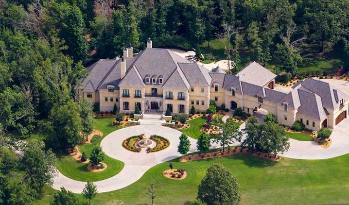 5 5 Million European Inspired Mansion In Fayetteville Ar