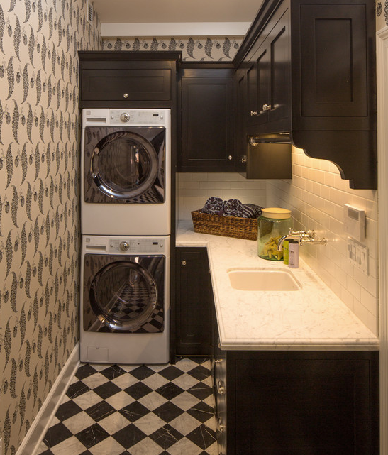 A Look At Some Laundry Rooms From Houzz.com