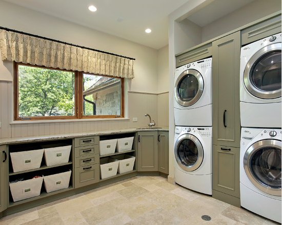A Look At Some Laundry Rooms From Houzz Com Homes Of The
