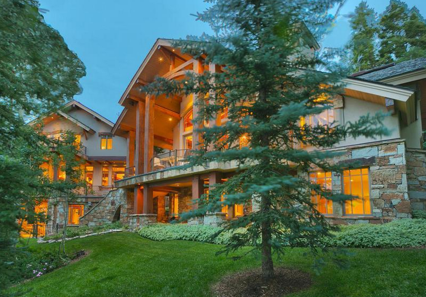 Crested Eagle Estate – A $12.9 Million Mountaintop Mansion In Park City, UT