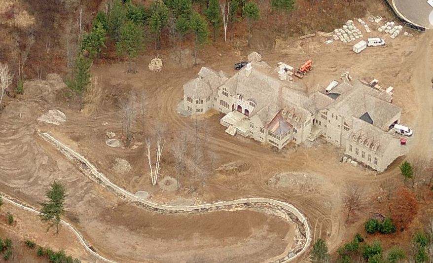 23,000 Square Foot Unfinished Mega Mansion In Oneida, WI