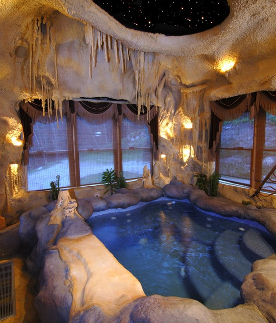 A Look At Some Indoor Hot Tubs From Houzz Com Homes Of