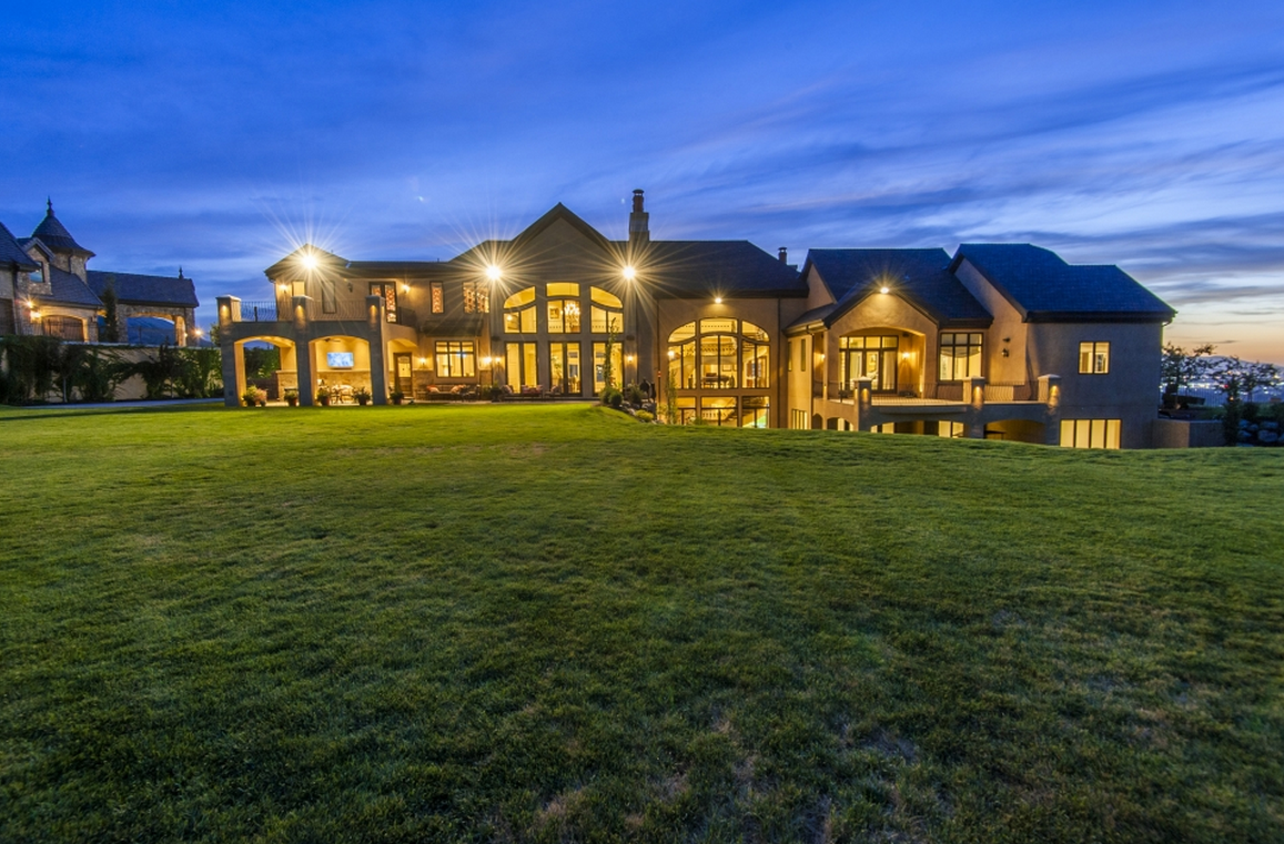15,000 Square Foot European Inspired Mansion In Draper, UT