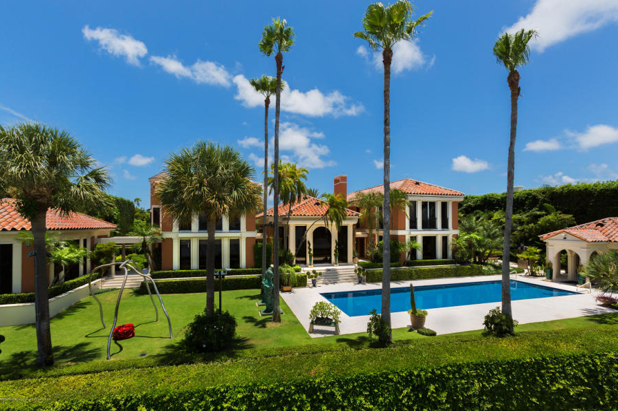 Filthy Rich Beer Distributor Stephen Levin Lists Palm Beach Estate For $36.5 Million