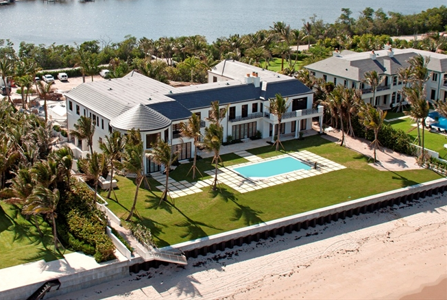 $45 Million Newly Built Ocean To Intracoastal Estate In Manalapan, FL