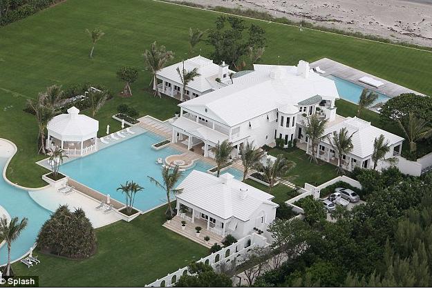 Superstar Singer Celine Dion Lists Her Jupiter Island Estate For $72.5 Million