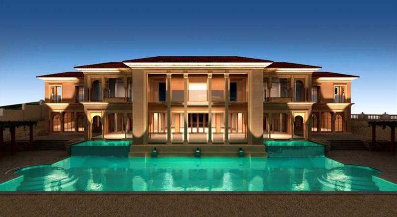 15,000 Square Foot Villa Under Construction In Palma de Mallorca, Spain
