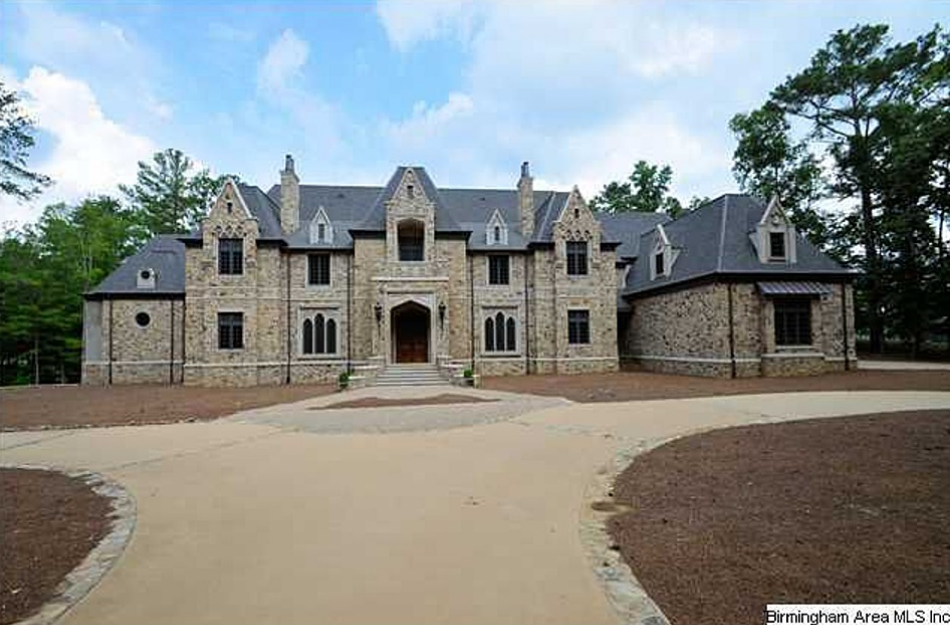 16 000 Square Foot Stone Mansion In Birmingham Al Homes