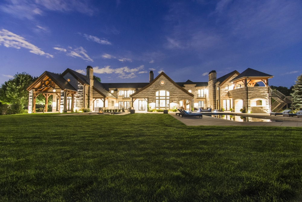 21,000 Square Foot Mansion In Cherry Hills Village, CO