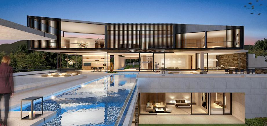 Modern Mansion With Perfect Interiors By Saota: Homes Of The Rich