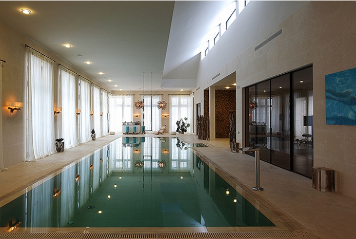 32,000 Square Foot Contemporary Mega Mansion In Moscow, Russia