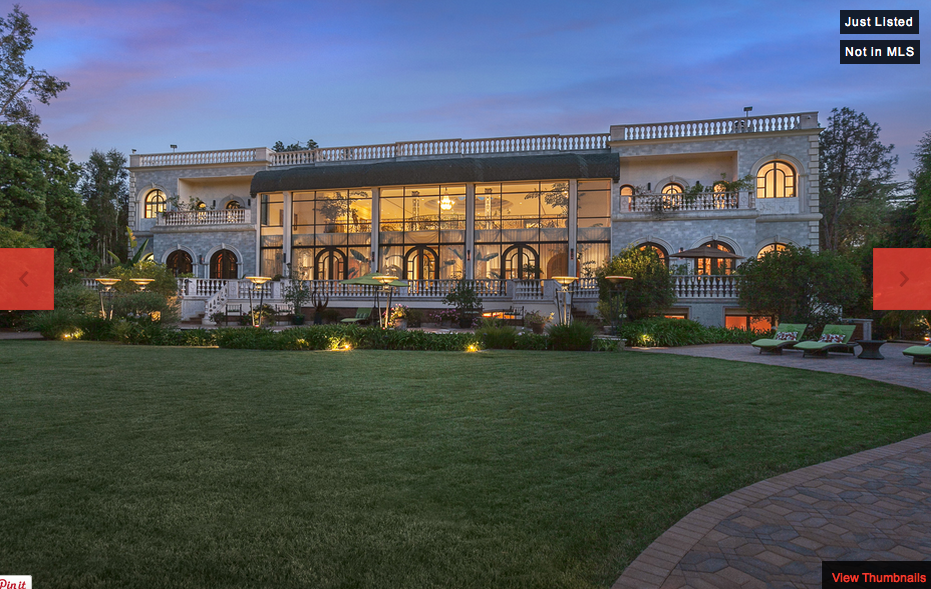 330 S Mapleton Drive in Holmby Hills, CA Re-Listed