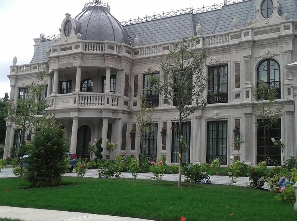 la belle maison a newly built limestone marble mansion. Black Bedroom Furniture Sets. Home Design Ideas