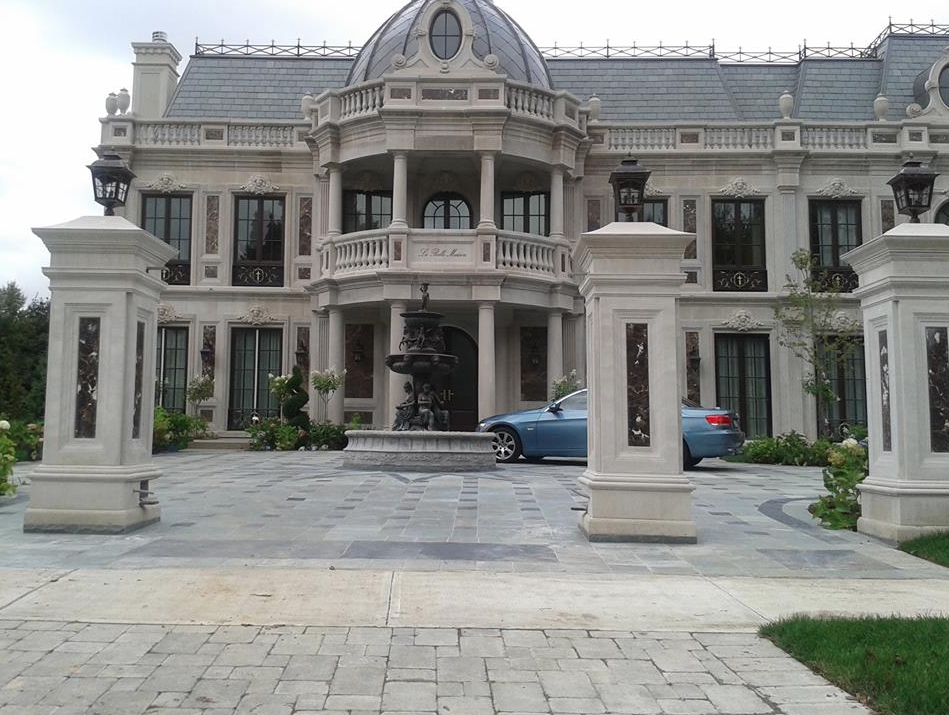 La Belle Maison A Newly Built Limestone Marble Mansion In Toronto Homes Of The Rich