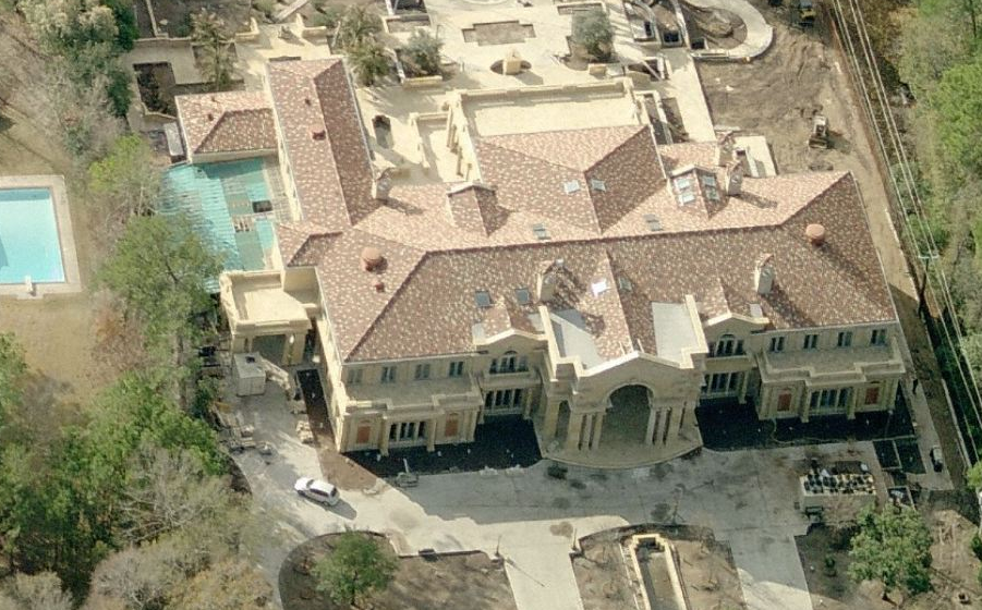 A Houston Tx Mega Mansion Homes Of The Rich