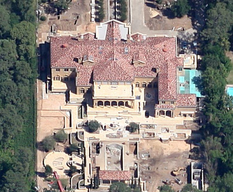 A Houston, TX Mega Mansion