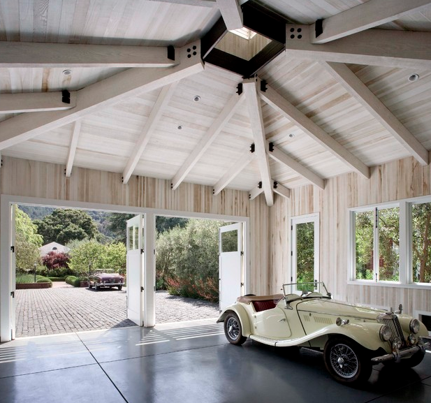 A Look At Some Awesome Garages From Houzz.com