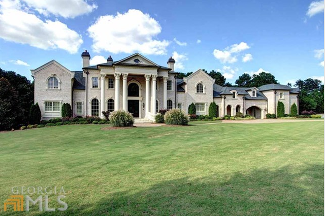 Newly Listed Bill Harrison Designed Mansion In Alpharetta