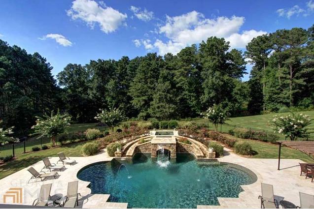 Newly Listed Bill Harrison Designed Mansion In Alpharetta, GA