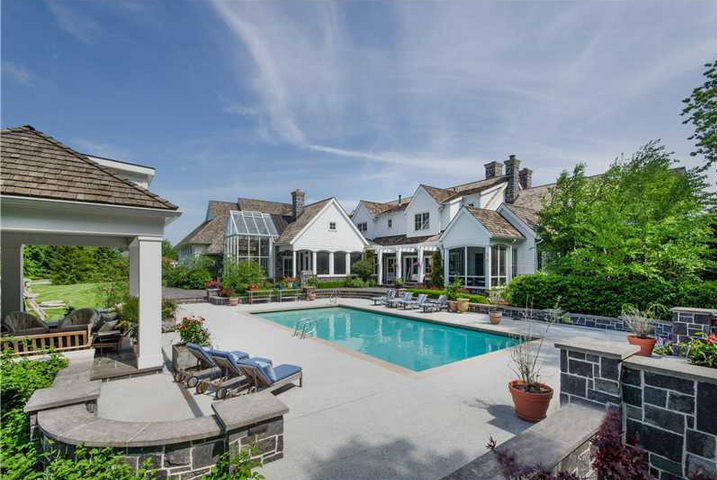 13,000 Square Foot Capecod Style Mansion In Carmel, IN