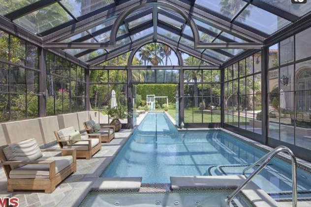 $15.495 Million Gated Mansion In Los Angeles, CA Owned By Noted Scientist
