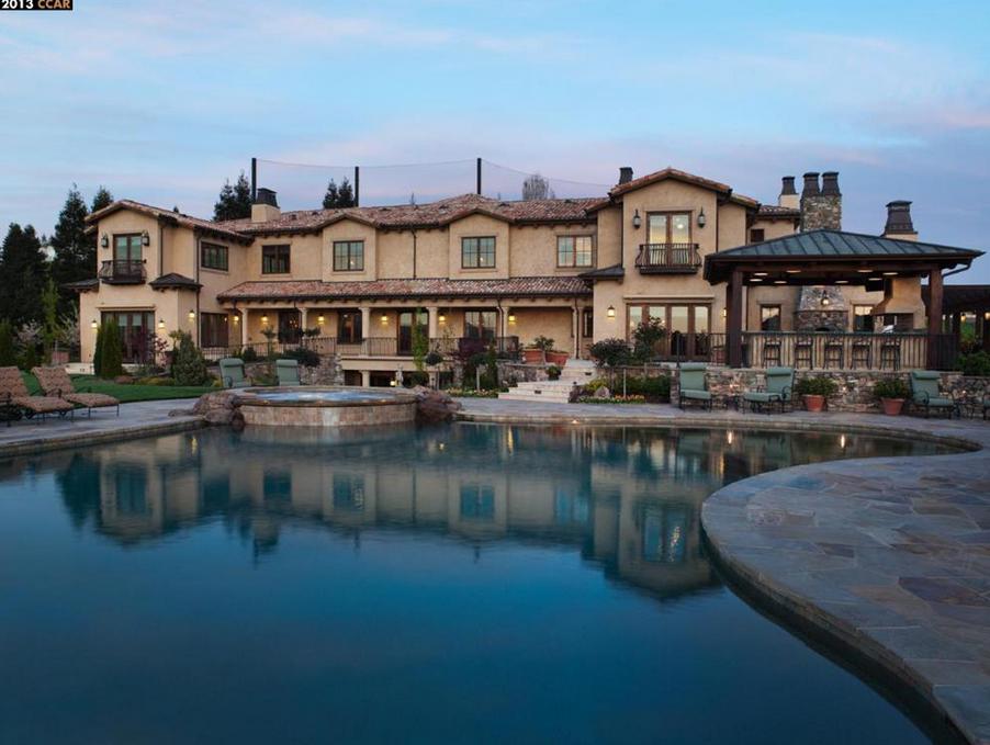 22 million tuscan inspired mansion in blackhawk ca