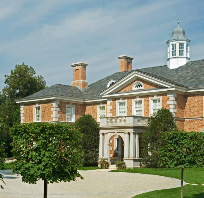 Newly Listed $26.5 Million Georgian Colonial Mega Mansion