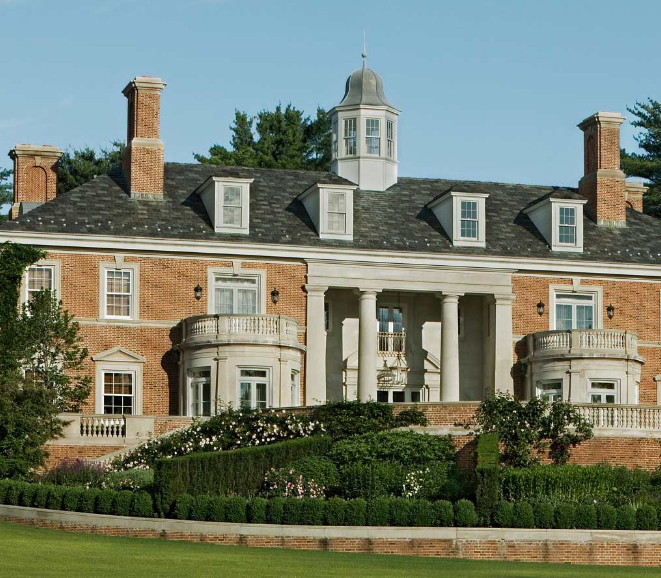 Newly listed 26 5 million georgian colonial mega mansion for Connecticut home builders