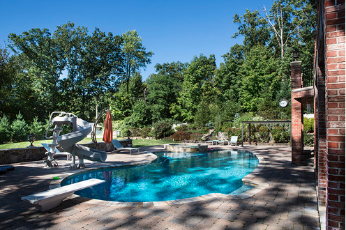 Newly Listed $6.75 Million Brick Mansion In Alpine, NJ