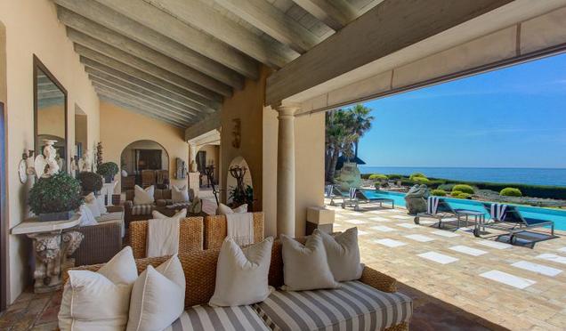 22,000 Square Foot Beachfront Estate In Marbella, Spain