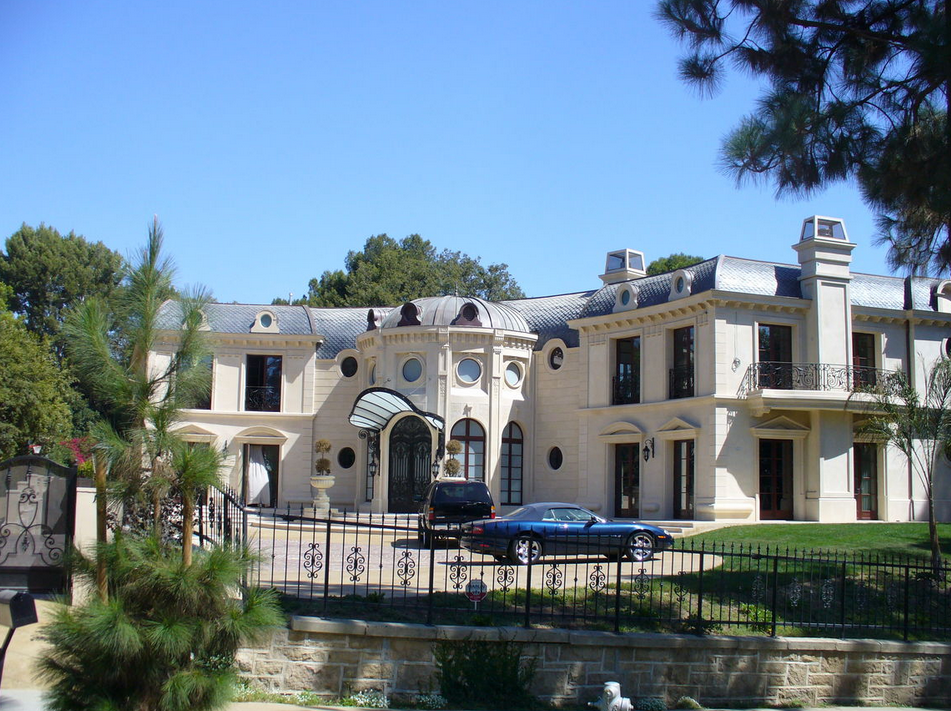 21,000 Square Foot Limestone Mansion In Beverly Hills, CA