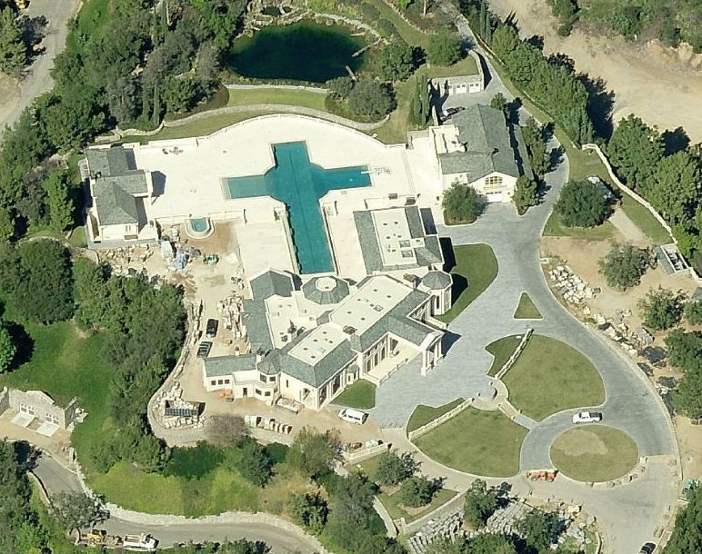 Updated Bird S Eye View Of 172 Bliss Canyon Road In