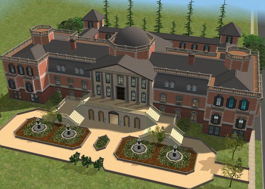 A Look At Some Mansions Made On The Sims Homes Of The Rich