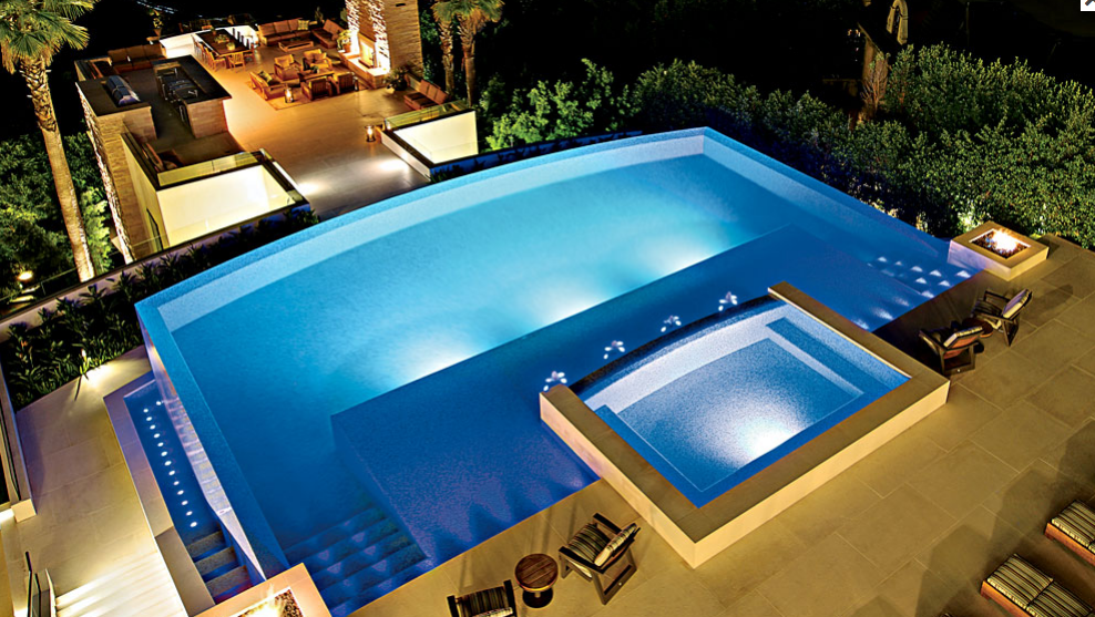 150 million offer declined on this 42 000 square foot los for Pool design los angeles