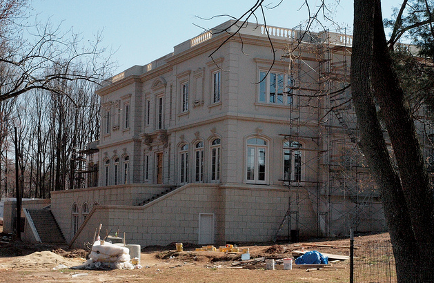Model Of A 30,000 Square Foot Potomac, MD Mega Mansion