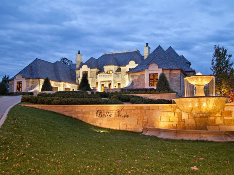 Famous celebrity mansions