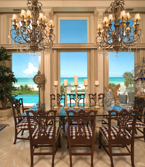 Longboat Key Apartments: Stately Georgian Contemporary Mansion In Longboat Key, FL