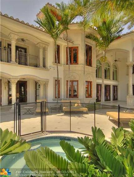 $12.995 Million Mediterranean Waterfront Mansion In Fort Lauderdale, FL