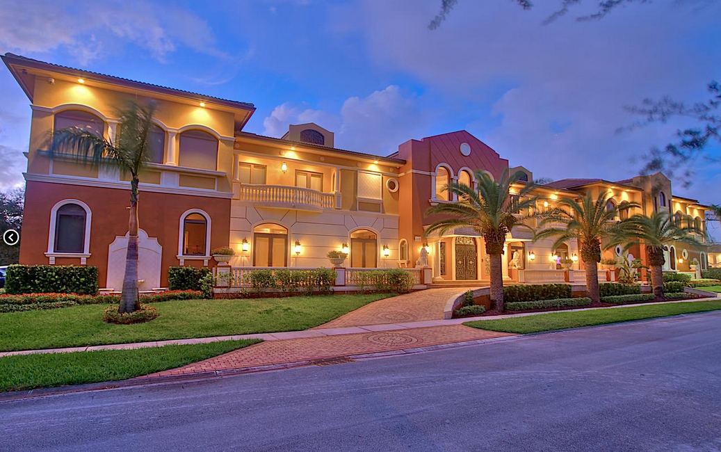 Opulent 18 000 Square Foot Mansion In Hollywood Fl