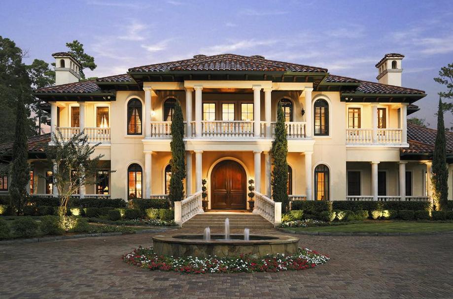 6 25 Million Mediterranean Golf Course Mansion In The