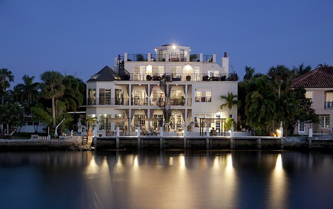 Middle River Manor – A European Inspired Waterfront Mansion In Fort Lauderdale, FL