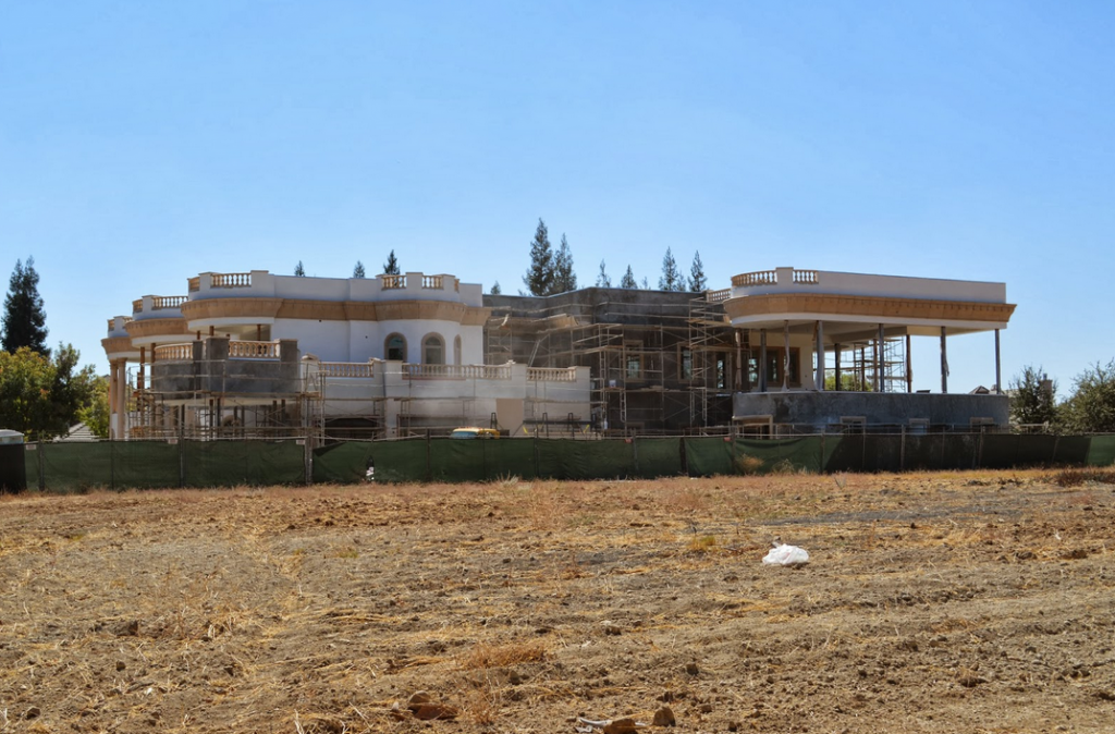 Large Mansion Under Construction In Fresno Ca Homes Of