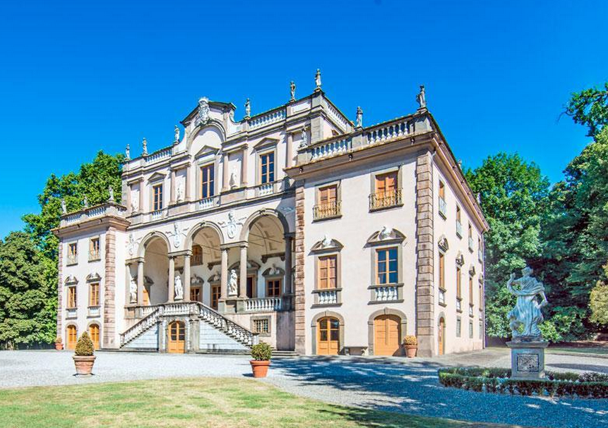 Historic 16th Century Mansion In Lucca Italy Homes Of