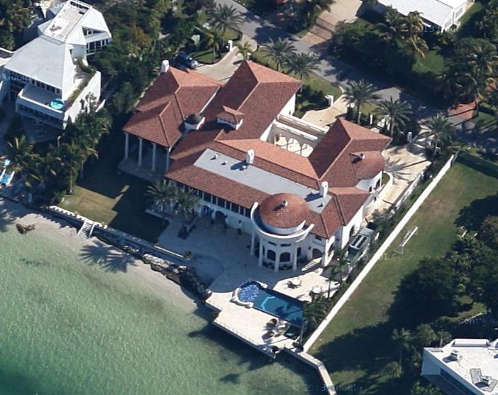 Real Estate Developer's 22,000 Square Foot Key Biscayne, FL Mansion