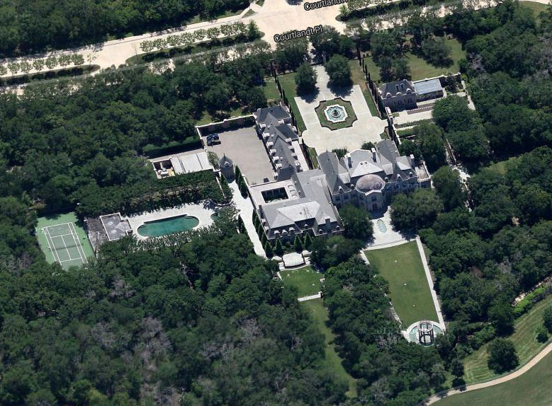 Businessman Don Adams Texas Mega Mansion Homes Of The Rich
