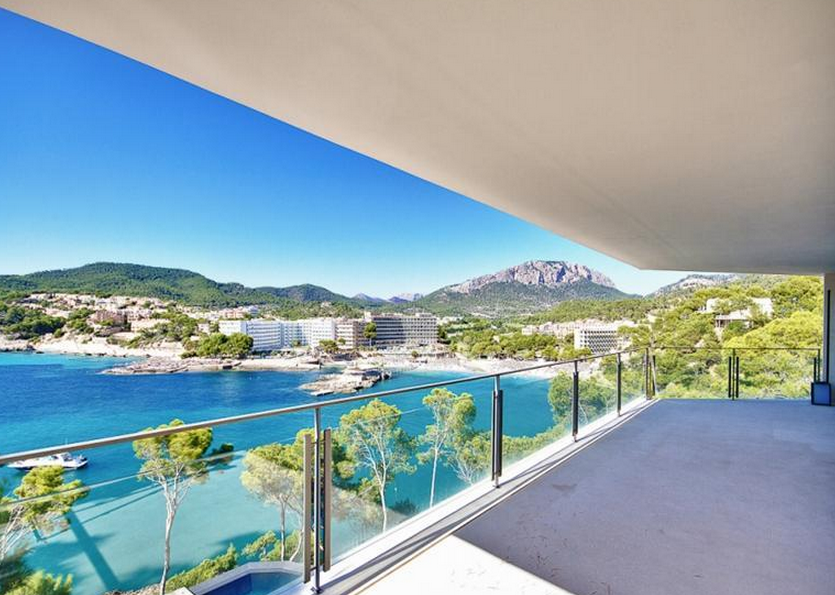 $21 Million Newly Built Waterfront Estate In Mallorca, Spain