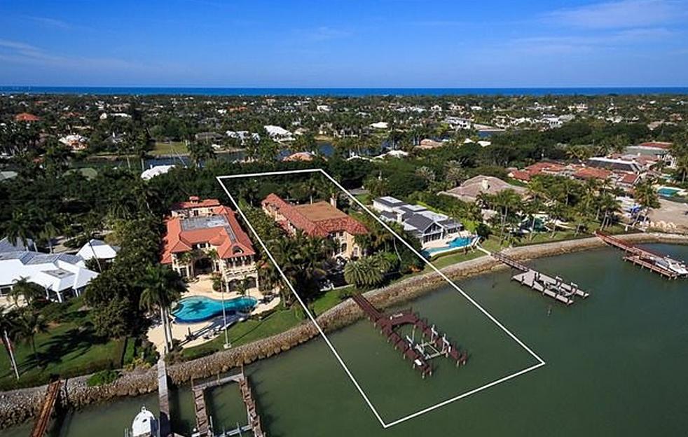 Villa Felice – A Mediterranean Style Bayfront Mansion In Naples, FL