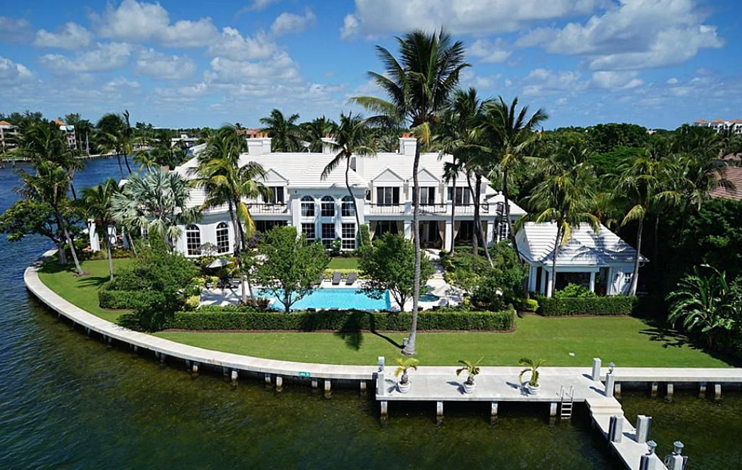 $22.5 Million Georgian Style Waterfront Mansion In Boca Raton, FL