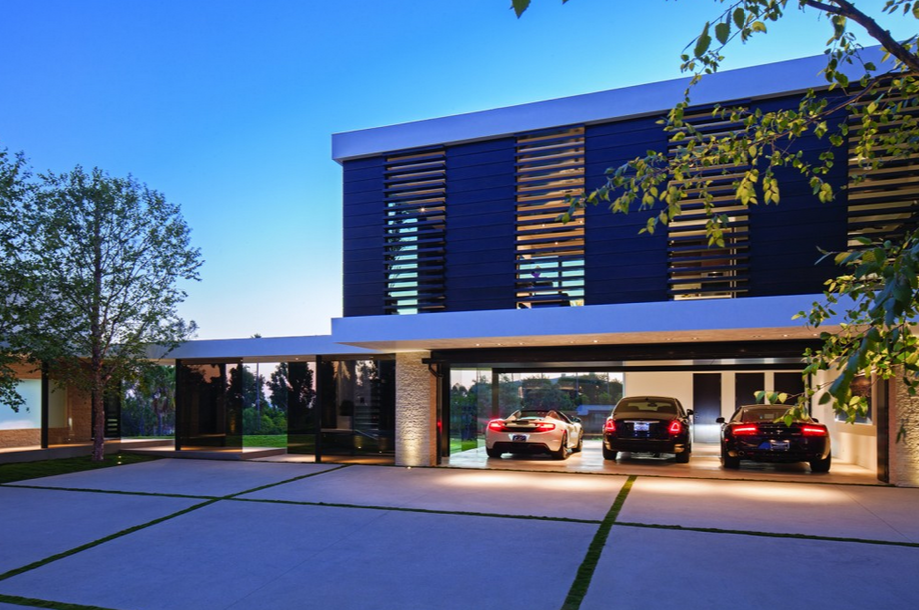 Stunning Newly Built $36 Million Contemporary Mansion In Beverly Hills, CA